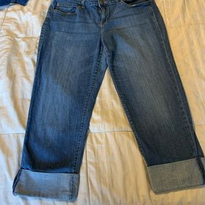 Old navy cropped cuffed crop jeans